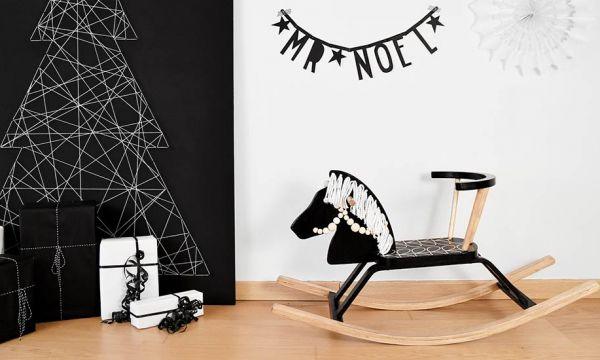 Tuto idée cadeau : Rénovez un cheval à bascule en bois pour un Noël au galop !