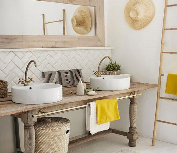 18 idées déco à copier pour relooker votre salle de bains
