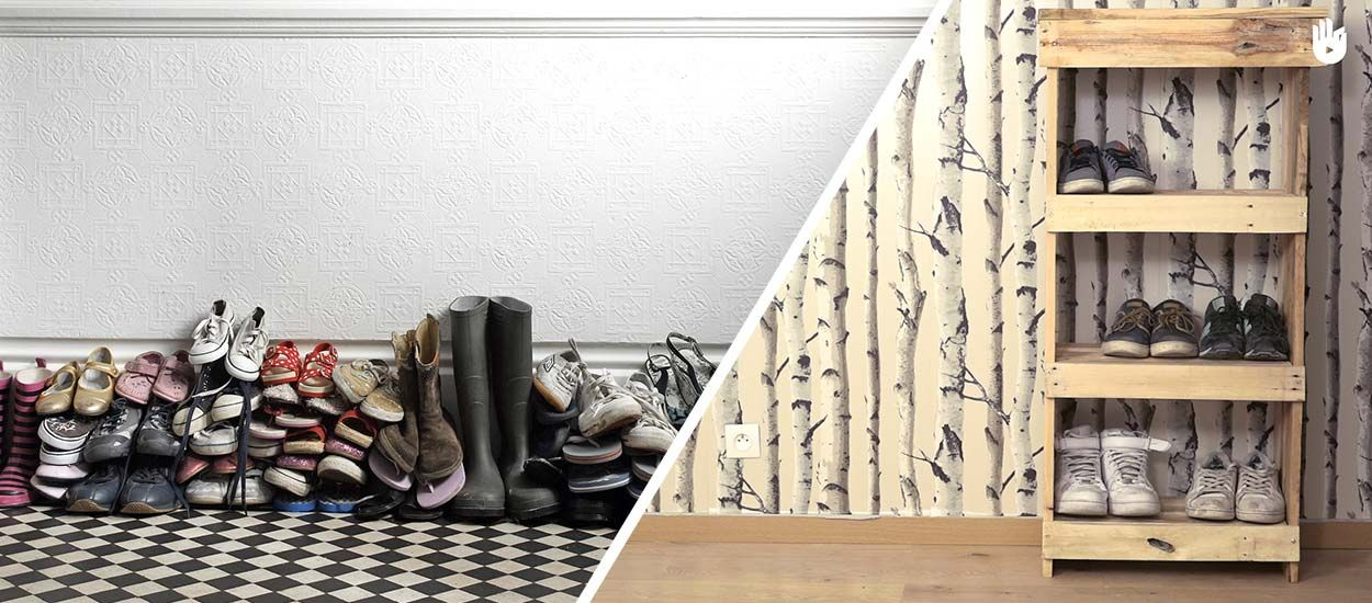 Tuto : Fabriquez un meuble à chaussures en bois de palette pour moins de 20 euros