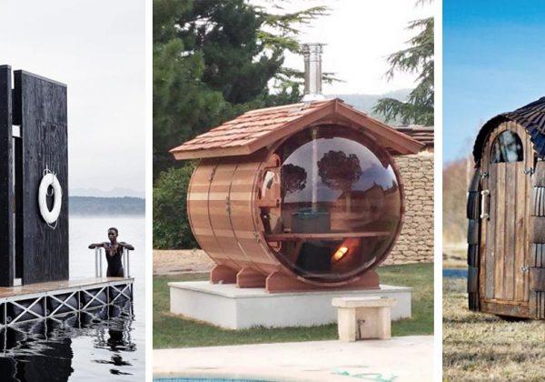 Inspiration Pinterest 16 Saunas D Exterieur Magnifiques 18h39 Fr