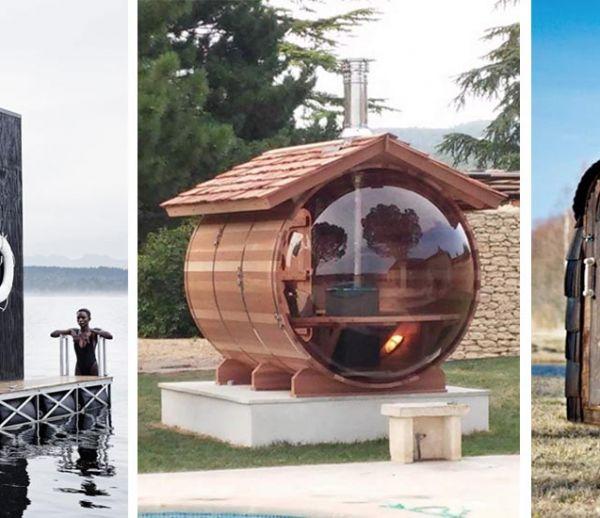 Les 16 plus beaux saunas à installer au fond du jardin ou à contempler pour rêver !