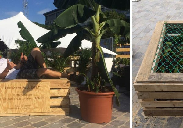 Tutoriel Fabriquer Un Hamac Sur Une Jardinière En Palette