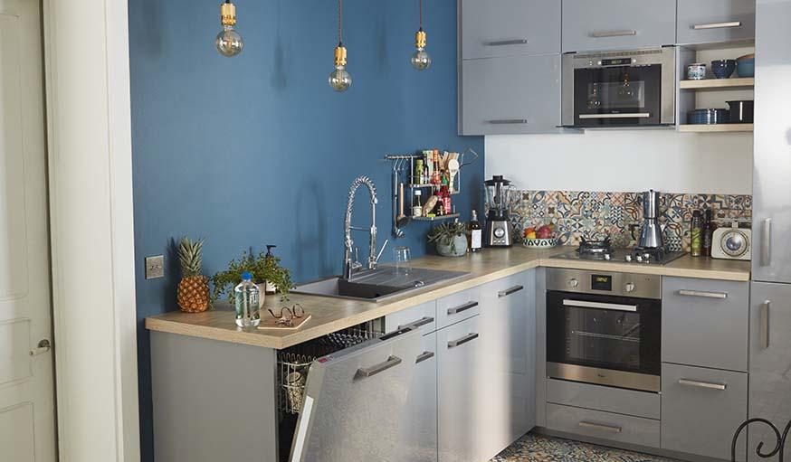 choisir ses luminaires cuisine conseils de pros pour installer l 39 clairage de sa cuisine. Black Bedroom Furniture Sets. Home Design Ideas