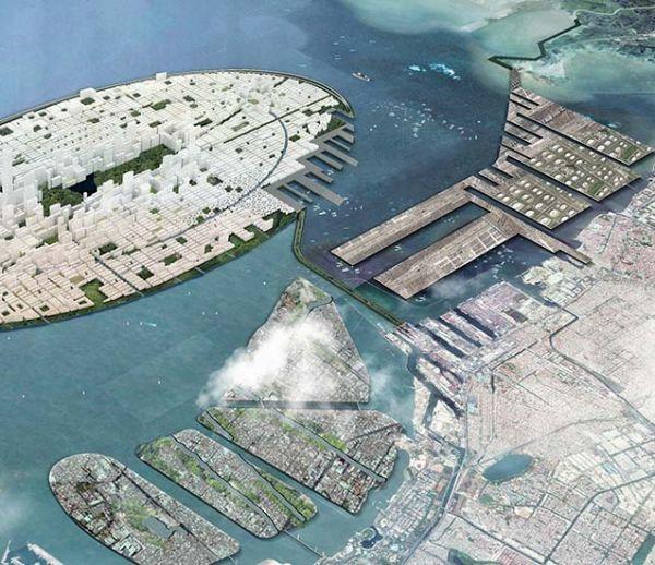 Un projet d'île artificielle gigantesque en Indonésie pour faire face au changement climatique