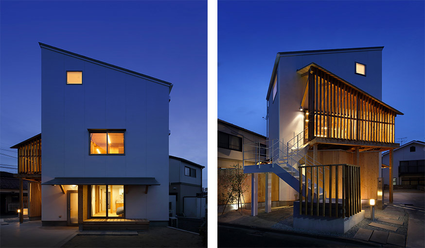 Japon une maison minimaliste l 39 int rieur bois for Petite maison minimaliste