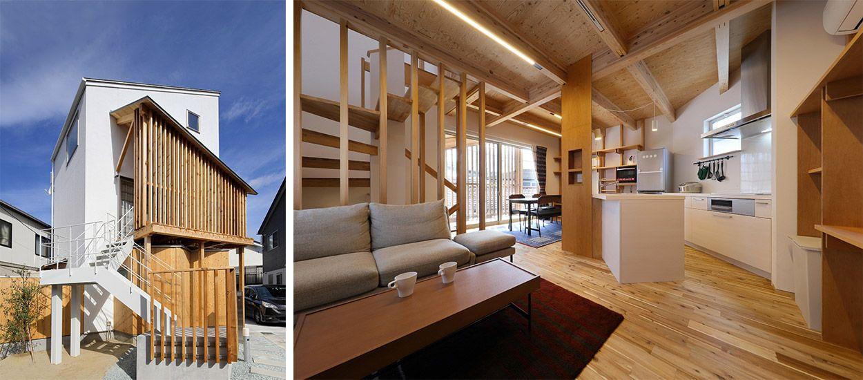 Japon une maison minimaliste l 39 int rieur bois - Deco japonaise maison ...