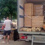 L'association Mineka revend à prix solidaire les matériaux inutilisés pour leur éviter la déchetterie.