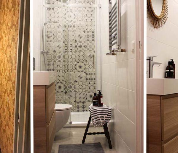 optimiser une petite salle de bains couloir am nager une. Black Bedroom Furniture Sets. Home Design Ideas