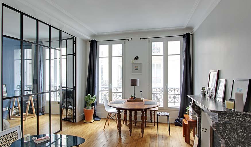 Une verrière d\'intérieur pour aménager une chambre dans un ...