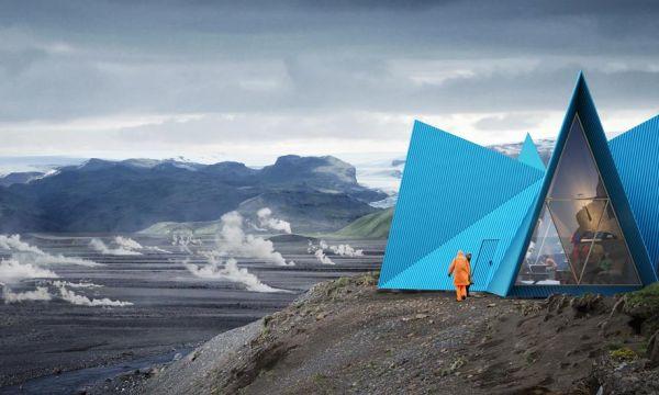 Cet abri écolo est conçu pour résister aux conditions météo les plus extrêmes