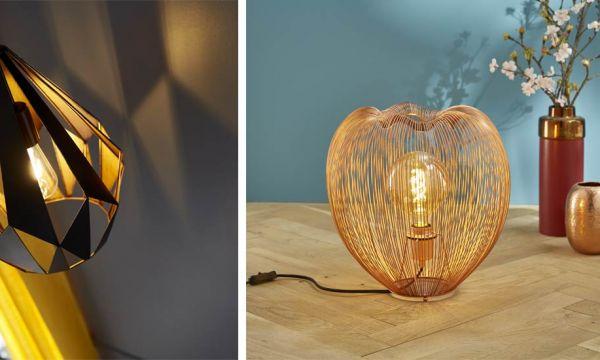 6 luminaires pour créer des jeux d'ombre et de lumière !