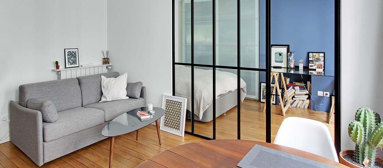 une verri re d 39 int rieur pour am nager une chambre dans un. Black Bedroom Furniture Sets. Home Design Ideas