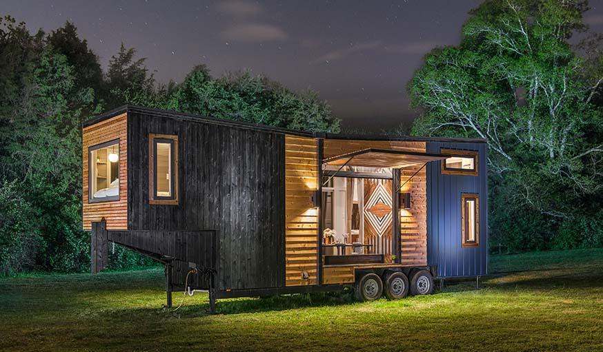 Une Tiny House De Luxe Avec 2 Chambres Et 1 Douche 224 L