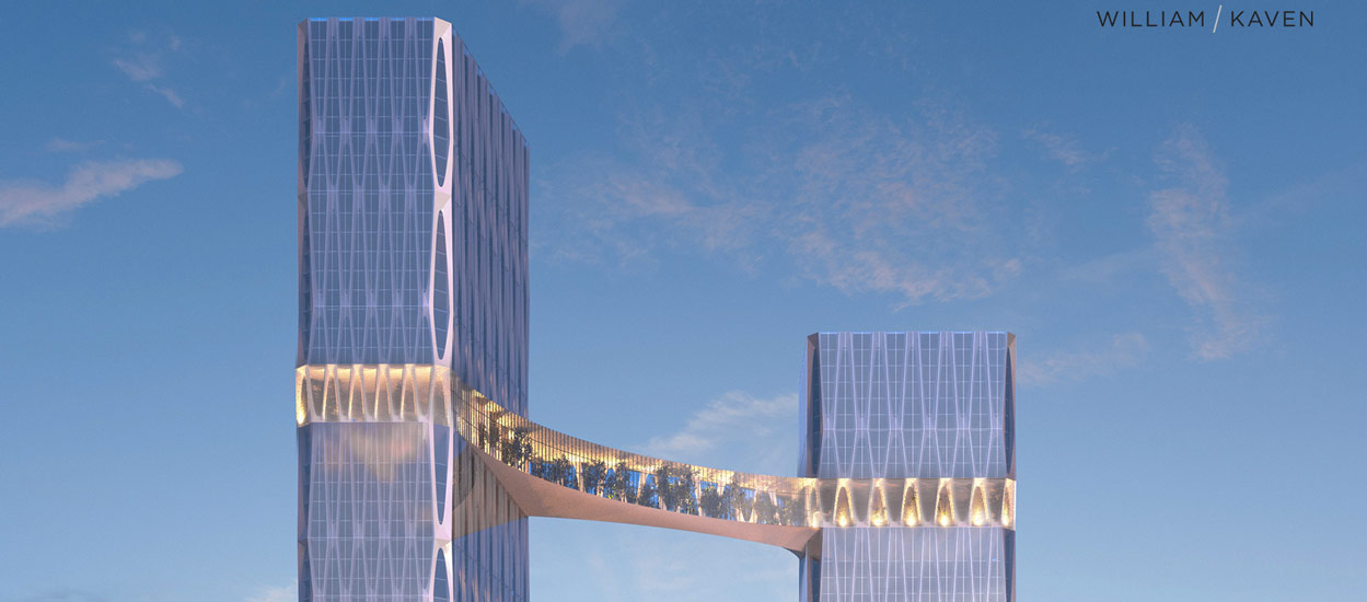 Un jardin botanique pour relier les deux plus grandes tours de Seattle