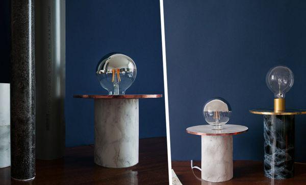 Tuto : Fabriquez une lampe chic et tendance minérale pour moins de 20 euros