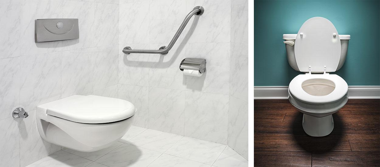 adaptables hygi niques design les avantages des toilettes suspendues. Black Bedroom Furniture Sets. Home Design Ideas