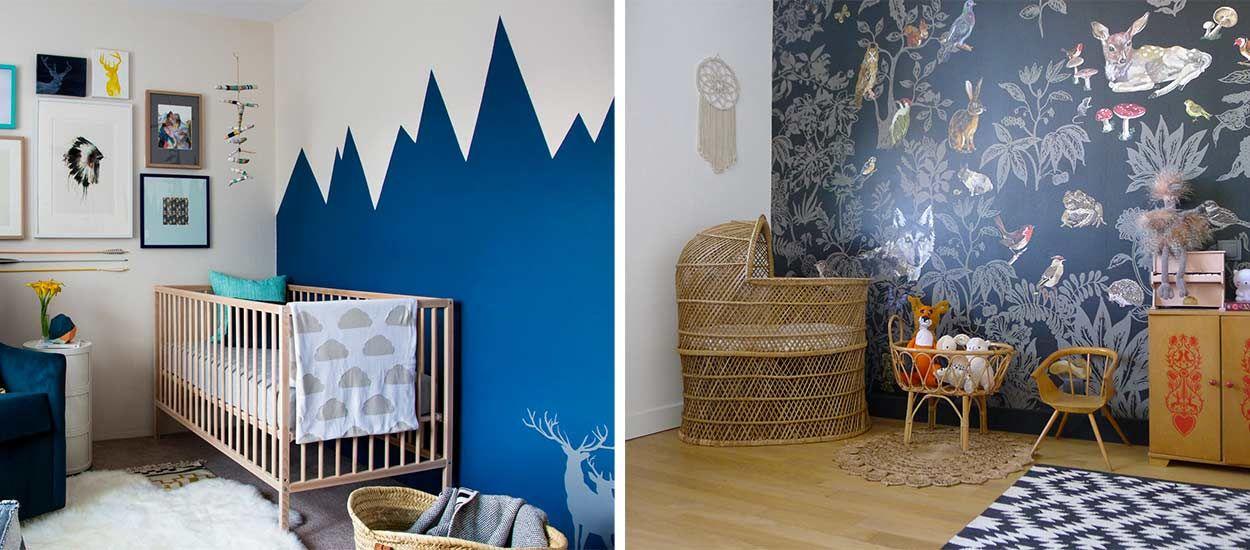 Des chambres de bébé qui changent des couleurs pastel - 18h39.fr