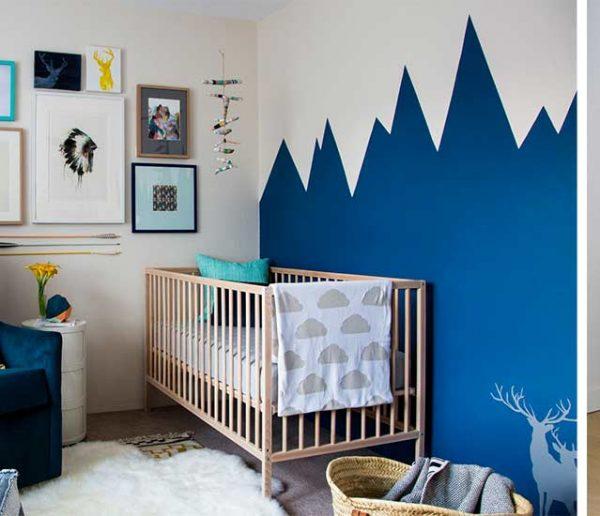 9 chambres de bébé hyper tendance qui changent des couleurs pastel