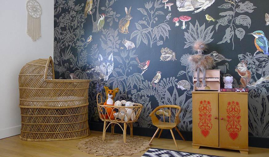 des chambres de b b qui changent des couleurs pastel. Black Bedroom Furniture Sets. Home Design Ideas