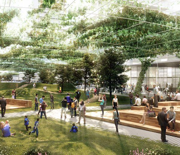 Transports autonomes et jardins partagés, la ville du futur prend forme à Milan