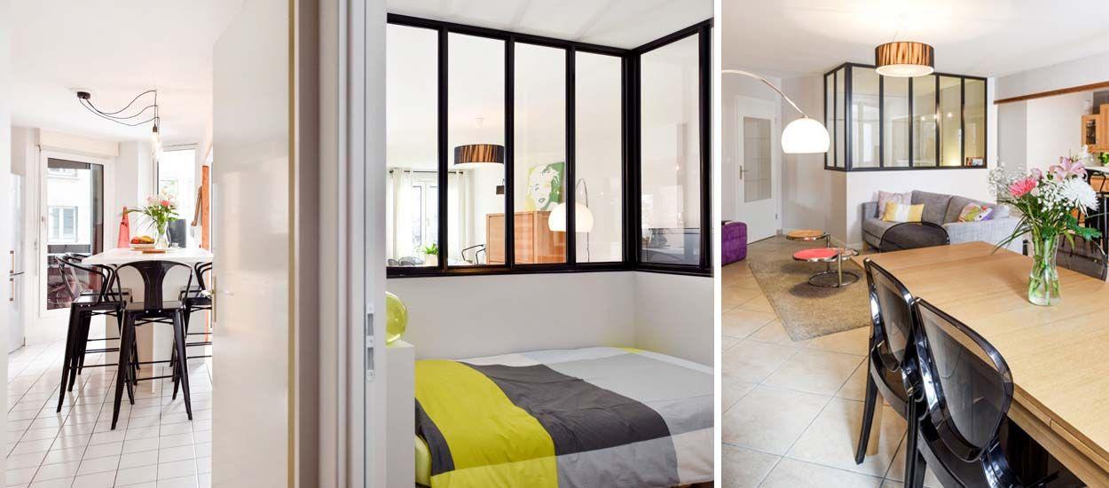 Avant / Après : ils ont créé une chambre en plus grâce à une verrière d'intérieur