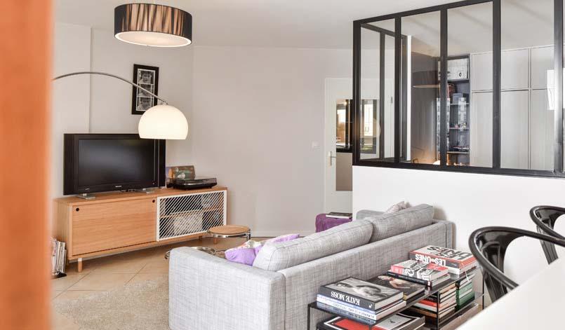 avant apr s ils ont cr une chambre en plus gr ce une verri re d 39 int rieur. Black Bedroom Furniture Sets. Home Design Ideas