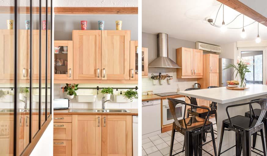 La nouvelle cuisine, plus claire et plus épurée.