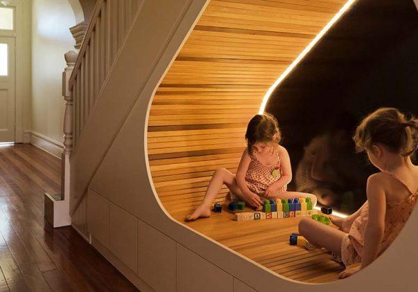 18 idées d\'aménagement sous l\'escalier - Rangement sous l ...