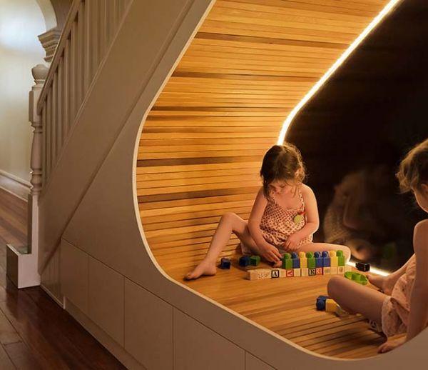 17 idées brillantes pour optimiser l'espace sous l'escalier