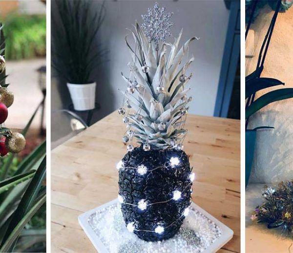 J-21 : Tendance déco insolite : les ananas de Noël !