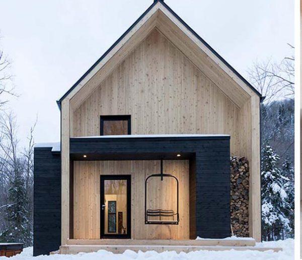 6 maisons de montagne lookées qui ringardisent les chalets traditionnels !