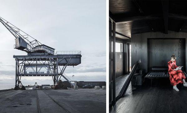 Cette ancienne grue industrielle a été transformée en somptueux hôtel