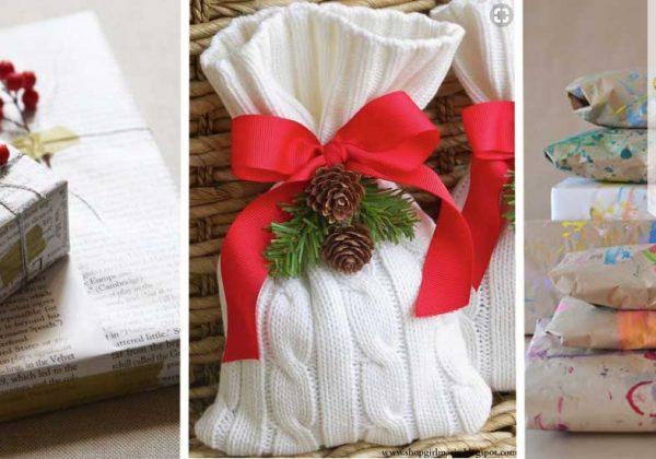 style limité styles divers vente énorme 17 paquets cadeau faits maison, récup' et zéro déchet pour ...