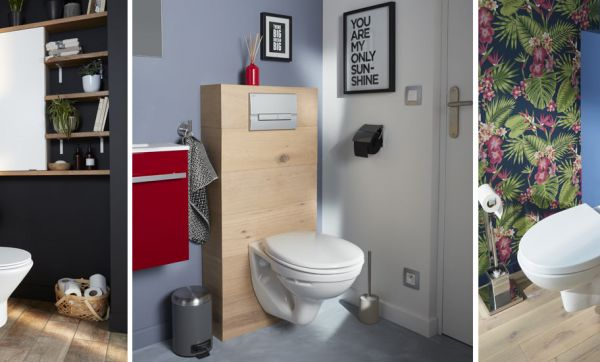 decorer ses wc decorer ses wc top exemple peinture ardoise dans les toilettes with avec id c ae. Black Bedroom Furniture Sets. Home Design Ideas
