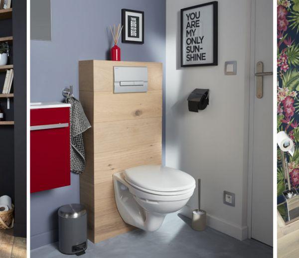 7 habillages pour des toilettes suspendues qui sortent de l'ordinaire