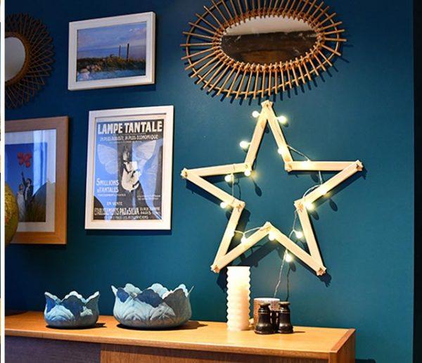 Tuto de Noël : Fabriquez très facilement votre belle étoile lumineuse !