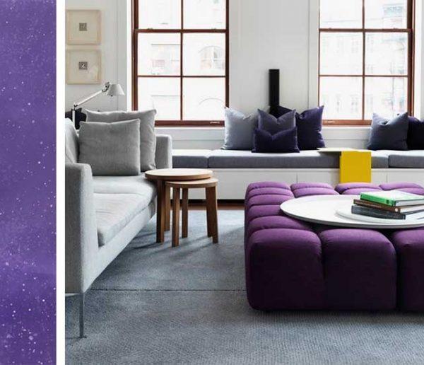 19 idées pour intégrer la couleur de l'année, le Pantone Ultra Violet dans sa déco !
