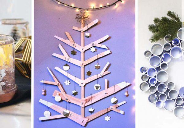 20 décorations de Noël récup\u0027 à fabriquer soi,même