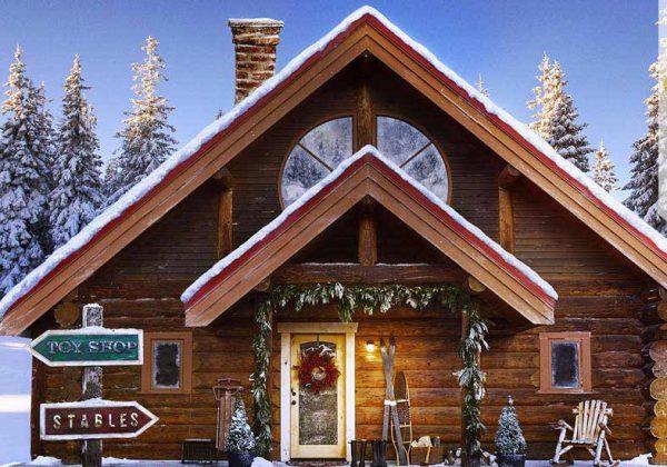 La Maison Du Pere Noel.Visiter La Vraie Maison Du Père Noël Au Pôle Nord 18h39 Fr