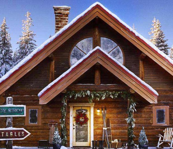 J-18 : Le Père Noël existe, la preuve on a trouvé sa maison !