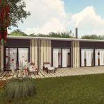 Voilà à quoi ressemblera une maison passive construite avec des conteneurs frigorifiques.