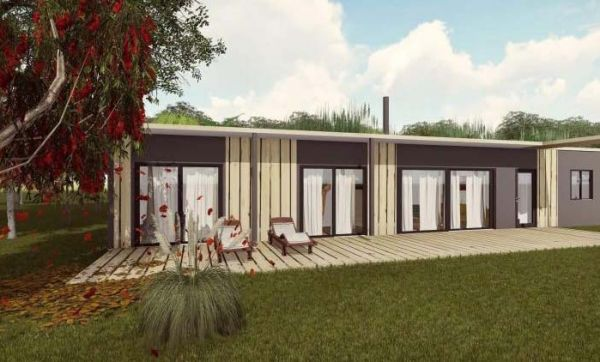 Des maisons passives à 1200 euros le m2 construites en France avec des camions réfrigérés !