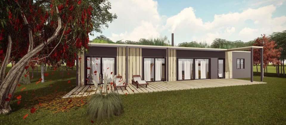 des maisons passives pas ch res construites avec des conteneurs frigorifiques. Black Bedroom Furniture Sets. Home Design Ideas