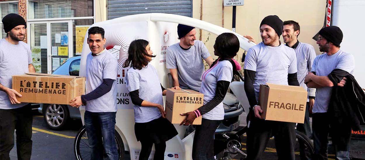 Cette association propose un déménagement à vélo 100% écolo et solidaire