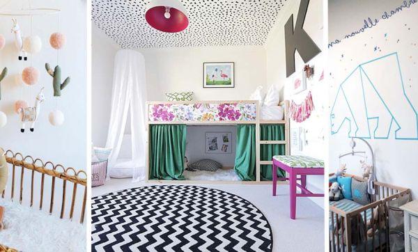 Pompons, cabanes et jeux en bois DIY : les 6 tendances déco 2018  pour les chambres d'enfant