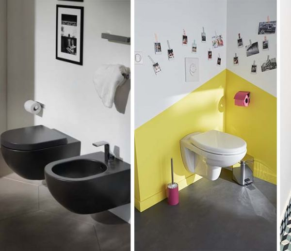 cheap ides pour des toilettes suspendues super tendance with coffrage wc suspendu avec rangement. Black Bedroom Furniture Sets. Home Design Ideas