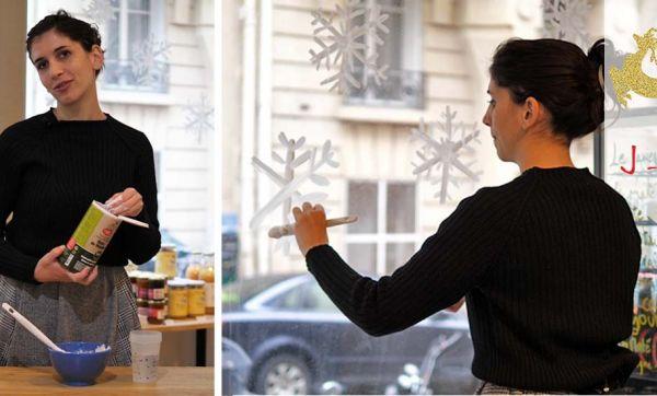 J-11 : Le blanc de Meudon pour décorer vos vitres, l'astuce écolo de Noël !