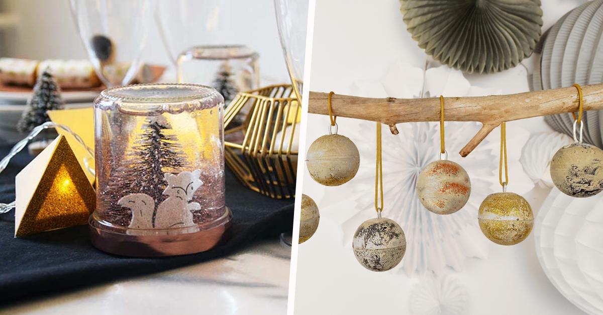 20 décorations de Noël récup' à fabriquer soi-même