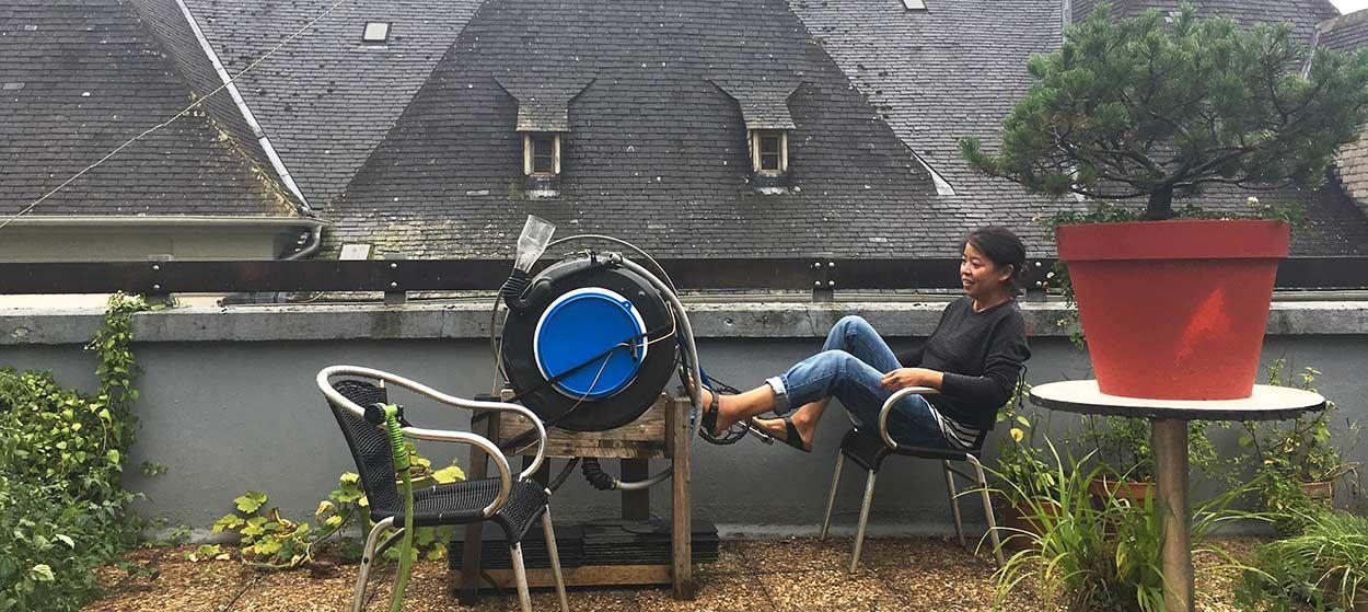 Elle raccorde son lave-linge à un vélo pour ne plus payer un centime d'électricité