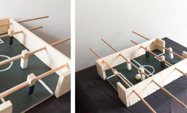Tuto : Fabriquez un mini baby-foot en bois pour une vingtaine d'euros